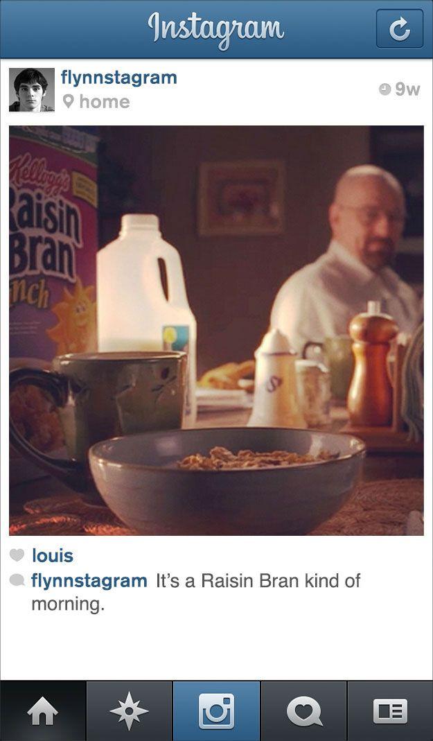 "If Walter Jr. From ""Breaking Bad"" Had Instagram"