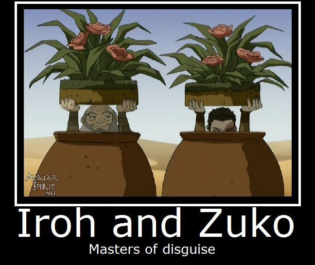 Avatar-Iroh and Zuko by MasterOf4Elements.deviantart.com on @deviantART