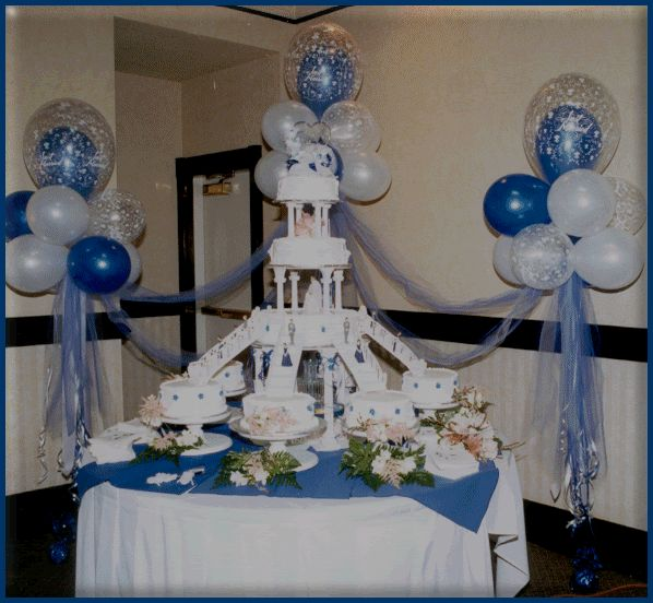17 Best Images About Balloon Head/cake Table On Pinterest