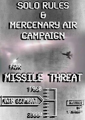 Missile Threat Solo Rules & Mercenary Air Campaign | Wargaming Rules