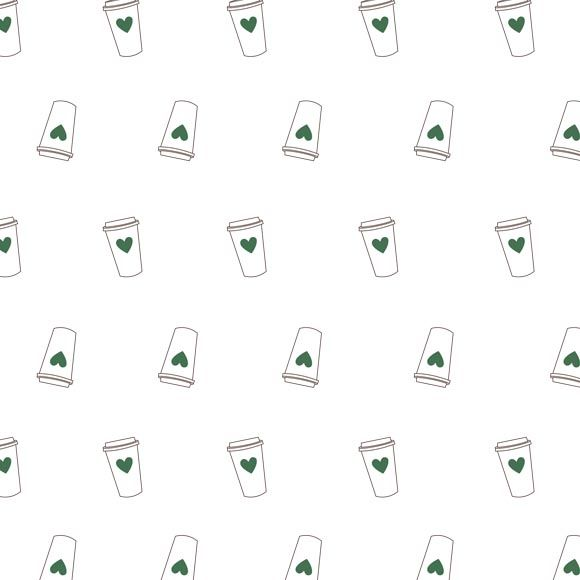 Printable Origami Paper with Coffee Cups Paper crafts Origami