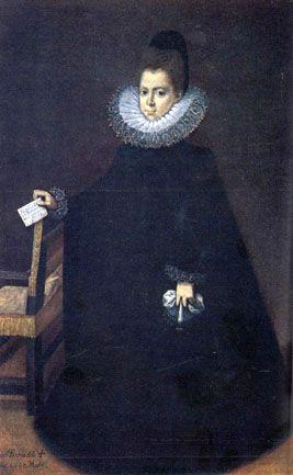 María Luisa de Aragón, duquesa de Villahermosa, c.1593, by Juan Pantoja de la Cruz