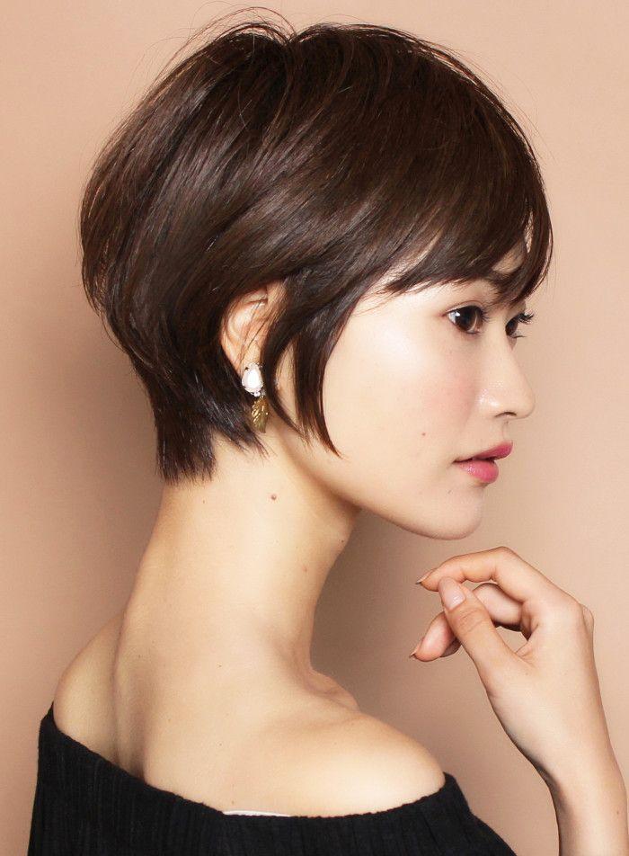 2wayスタイル 大人万能ショート 髪型 ヘアスタイル ヘアカタログ