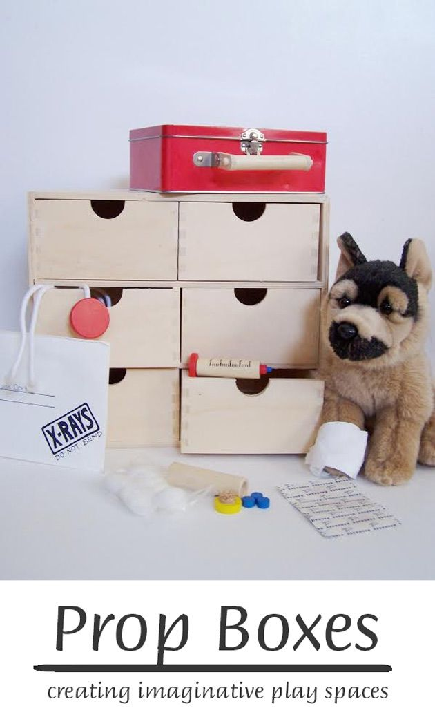 Prop Boxes: Creating Imaginative Play Spaces