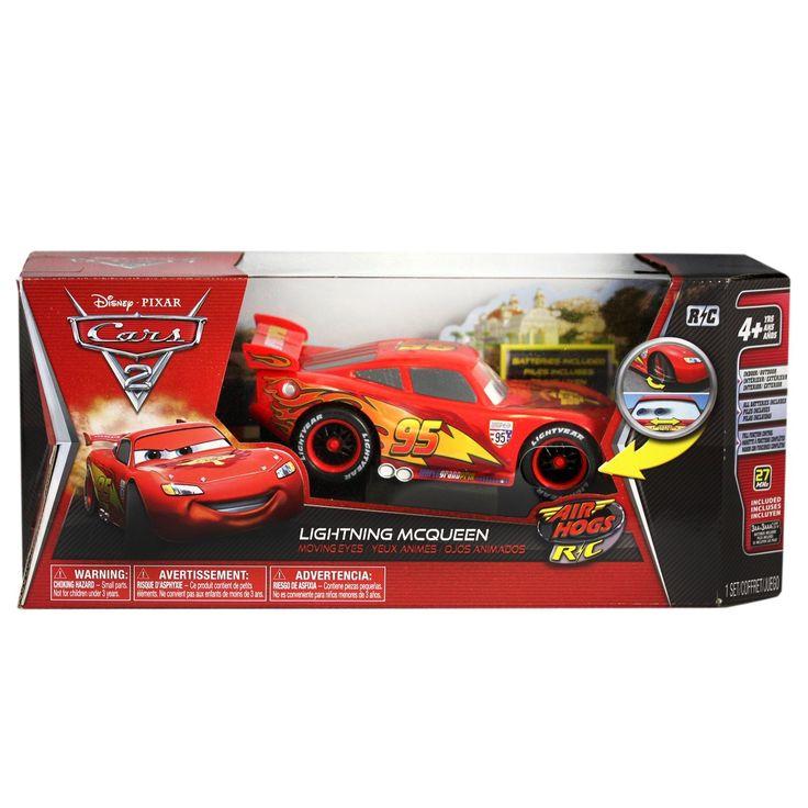 Amazon.co.jp: 国内未発売 ディズニー Cars 2 カーズ2 ライトニング・マックィーン ラジコン 1 /24スケール (AIR HOGS): おもちゃ