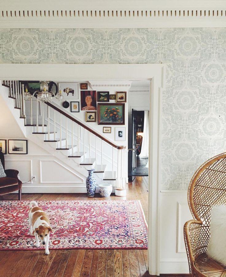 Vintage Foyer Wallpaper : Best ideas about eclectic wallpaper on pinterest