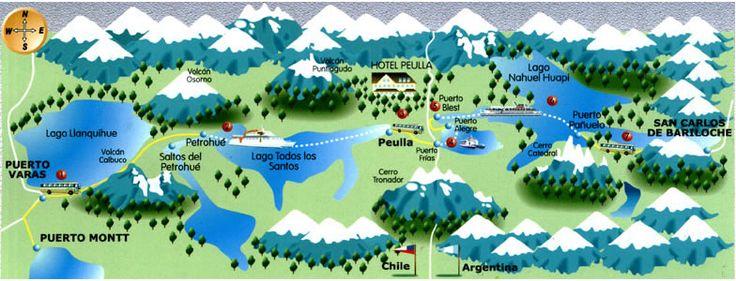 Cruce de Lagos Andinos | E-ticket Puerto Varas-San Carlos de Bariloche