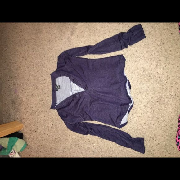 Button up long sleeve Brand new. Rue 21 Tops Tees - Long Sleeve