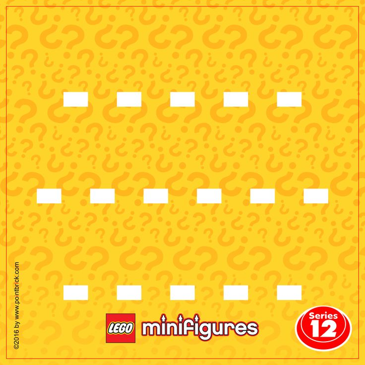 LEGO Minifigures 71007 Serie 12 - Display Frame Background 230mm - Clicca sull'immagine per scaricarla gratuitamente!