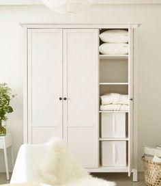 ikea white hemnes wardrobe - Google Search