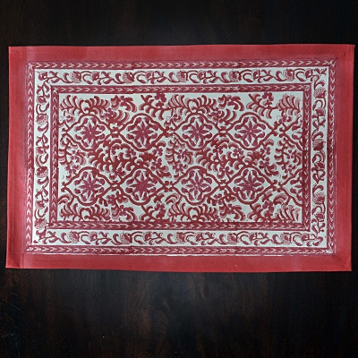 Red Paisley Place Mat $5.99