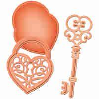 Spellbinders Shapeabilities Die D Lites Love Locket S2035