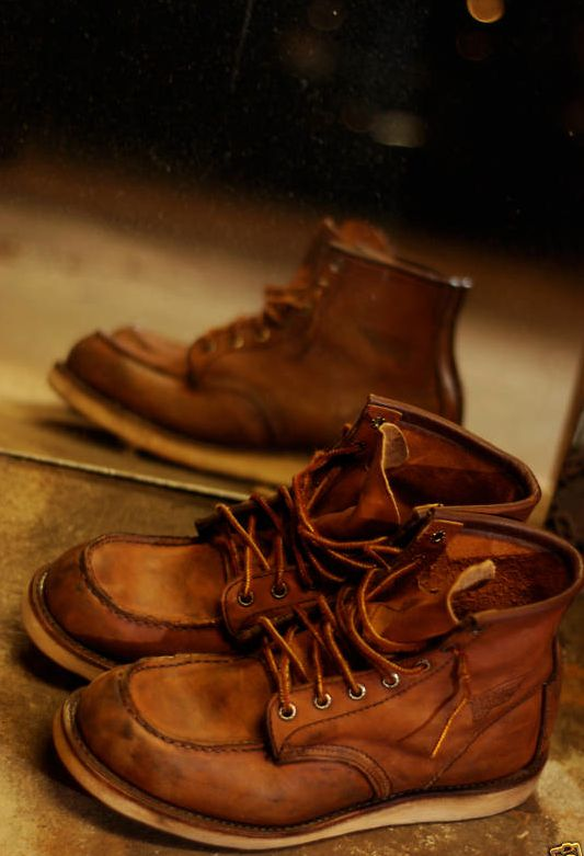 nothing really beats the look and feel of a well worn pair of red wings.