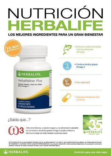 Nutrición Herbalife - Herbalifeline Plus. Entre otros factores, el ejercicio regular y una alimentación saludable con el consumo de ácidos grasos Omega 3 puede contribuir a disminuir el riesgo de enfermedades cardiovasculares.