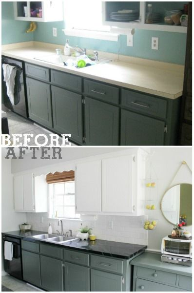 Budget Kitchen Reno From Before To After For Under 500 By Jesse M For Bean In Love Check