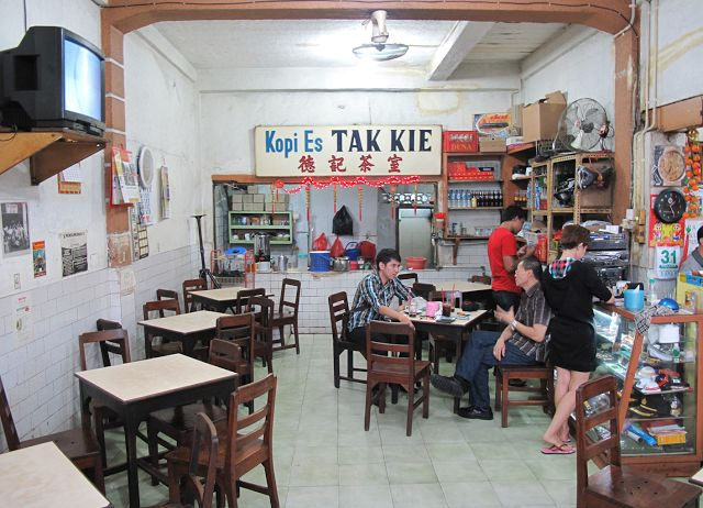 Kopi Tak Kie: Tak Lekang Oleh Waktu ~ Food and Travel