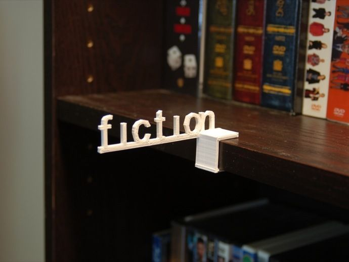 Customizable Shelf Talker by TheNewHobbyist - Thingiverse
