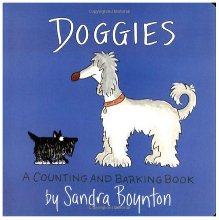 Doggies, A Counting and Barking Book - Sandra Boynton - A Thrifty Mom