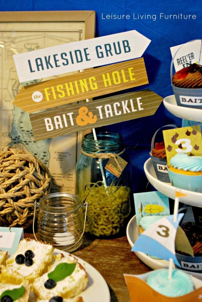 57 best images about fishing party ideas on pinterest for Fishing themed party supplies