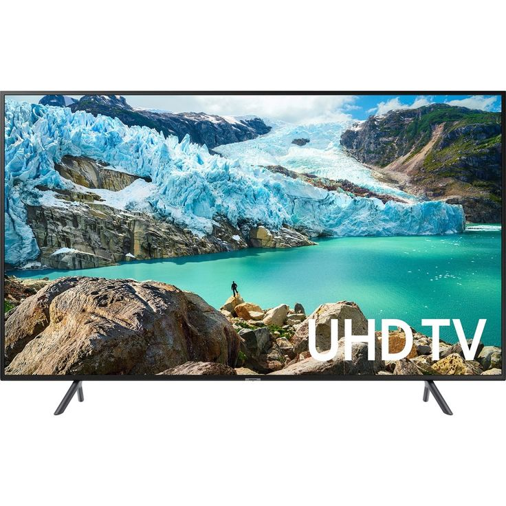 Samsung RU7100 UN75RU7100F 74.5″ Smart LED-LCD TV – 4K UHDTV – Charcoal Black – Edge LED Backlight – Alexa, Google Assistant Supported – Tizen – Dolby, Dolby Digital