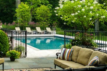 1000 Ideas About Fence Around Pool On Pinterest Semi Inground Pools Pool Fence And In Ground