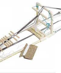 Free E-book from Weaving Today includes plans to construct a loom using PVC pipe.  Has anyone tried this?
