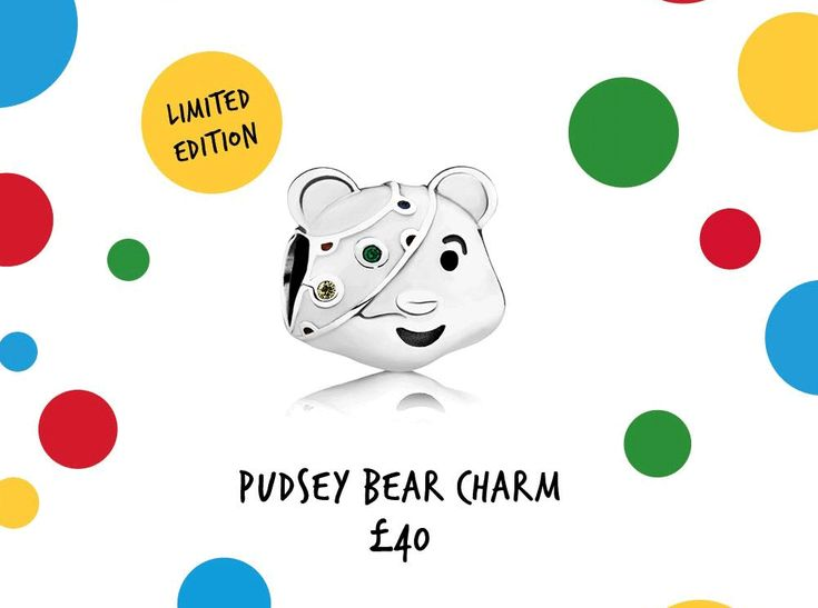 Review: Pandora Pudsey Bear Charm for BBC Children in Need