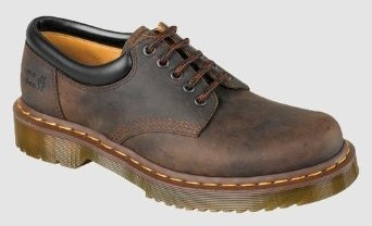 Dr Martens 5 EYE PADDED COLLAR SHOE Mens Material Updates GAUCHO