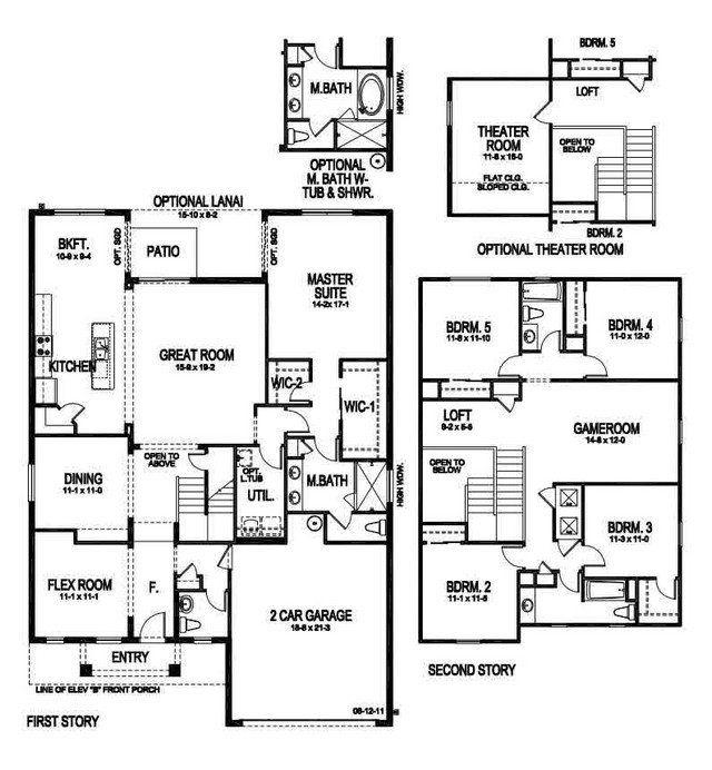 6 Bedroom House Plans With Basement Luxury 6 Bedroom Floor