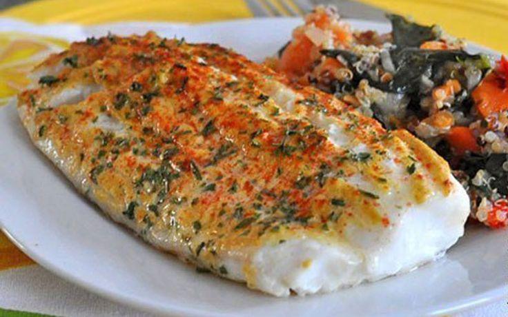Ингредиенты — Филе белой рыбы — 500 г (у нас треска) — Горчица 2 ст. л (не острая) —