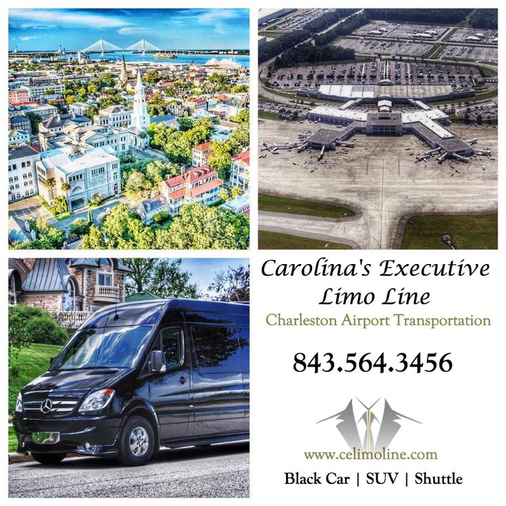 Charleston Airport Car & Shuttle Service from Carolina's Executive Limo Line. 843.564.3456   http://www.celimoline.com/charleston-airport-car-service