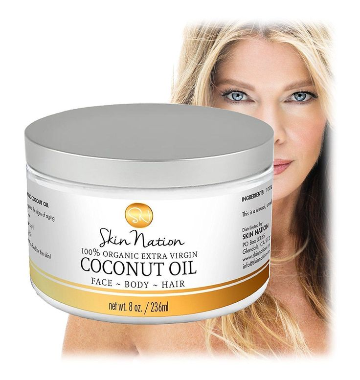 As Seen On FOX, ABC, NBC and CBS News, Two-Time Emmy Winner Michelle Stafford Brings You an All-Natural and Organic Skin Care Line You are Going to Love! Made from the highest quality of premium ingredients, our best organic coconut oil offers an array of natural skin care properties you will love! Maybe you're looking for coconut oil for hair mask or an organic makeup remover, this product has so many skin care uses. #organicskincare #naturalhaircare #skincareproducts