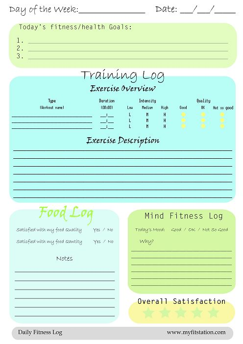 1000+ ιδέες για Food Journal Printable στο Pinterest Βάρη - food journal templates