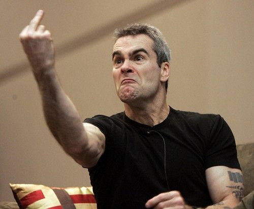 Henry Rollins #RollinsBand #BlackFlag