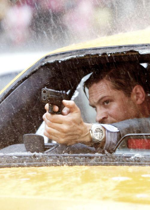Tom Hardy in Inception, Dir. Christopher Nolan (2010).