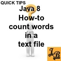 This quick #code #tip shows how to #count #number of #words in a #text #file in…
