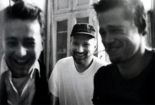 Brad Pitt, David Fincher and Edward Norton on Fight Club (1999)