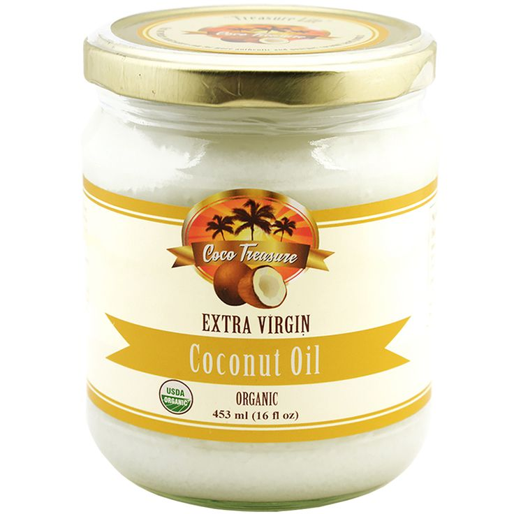 Organic Unrefined Extra Virgin Coconut Oil (USDA Certified)