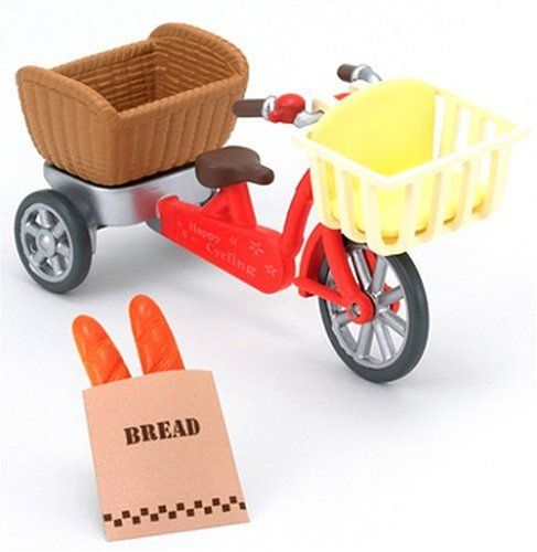 """Epoch Sylvanian Families Sylvanian Family Doll """"Bicycle (..."""