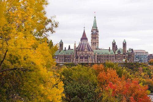 Ottawa in the fall