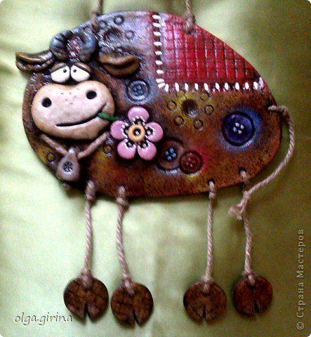 Подглядела я бычка у замечательной мастерицы Светулы,спасибо Светочка!очень…