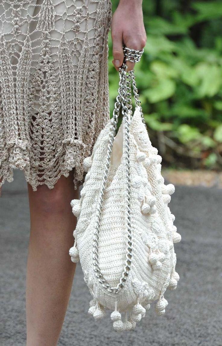 Bolso en crochet de Vanessa Montoro | Ruthy Crochet y más...