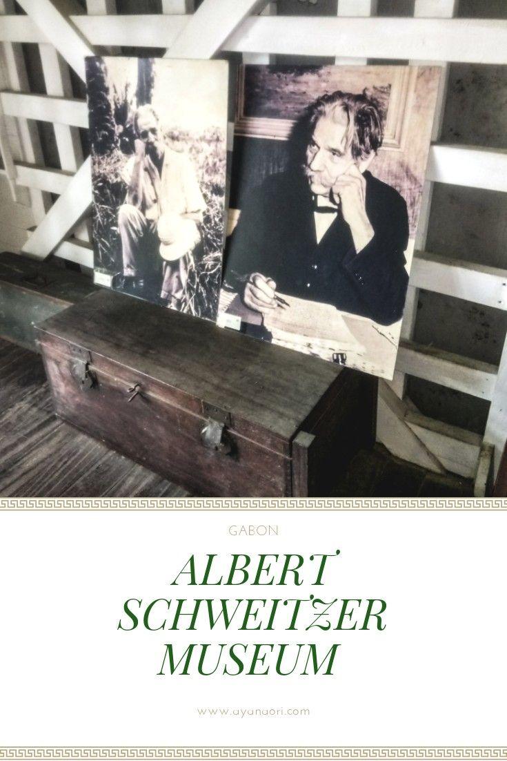 Albert Schweitzer Museum in Lambarene #Gabon #Africa