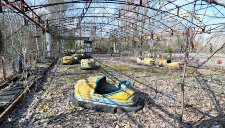 Penampakan Kota Hantu Bekas Bencana Nuklir Chernobyl