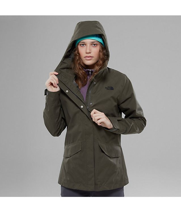 The North Face Womens All Terrain Zip In Jacket, Ohne