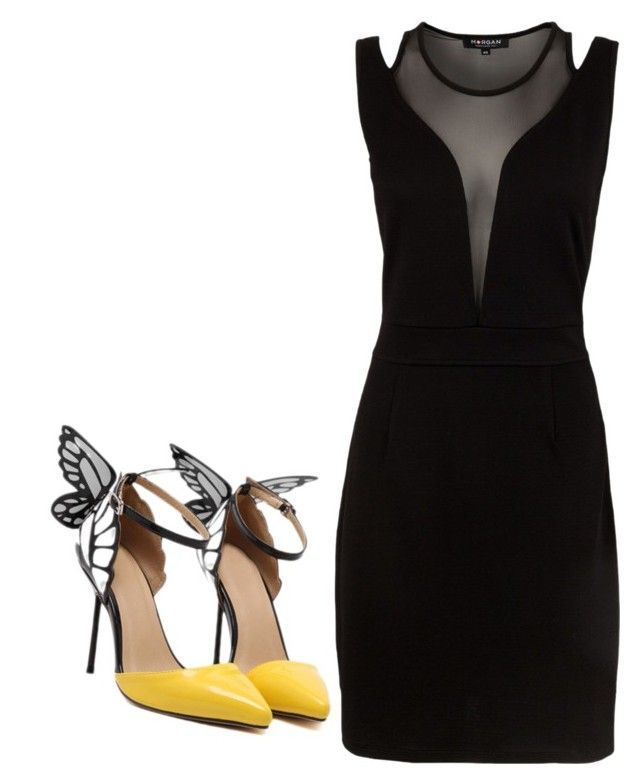 """""""Dark wings"""" by jnbell on Polyvore featuring Morgan"""