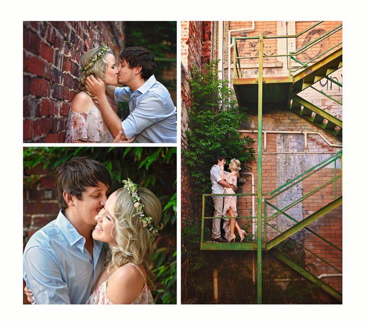 Engagement Photoshoot. Urban Photography. Couple Photography. Couple poses. Love. Photography. flower crown. Rockhampton Photographer