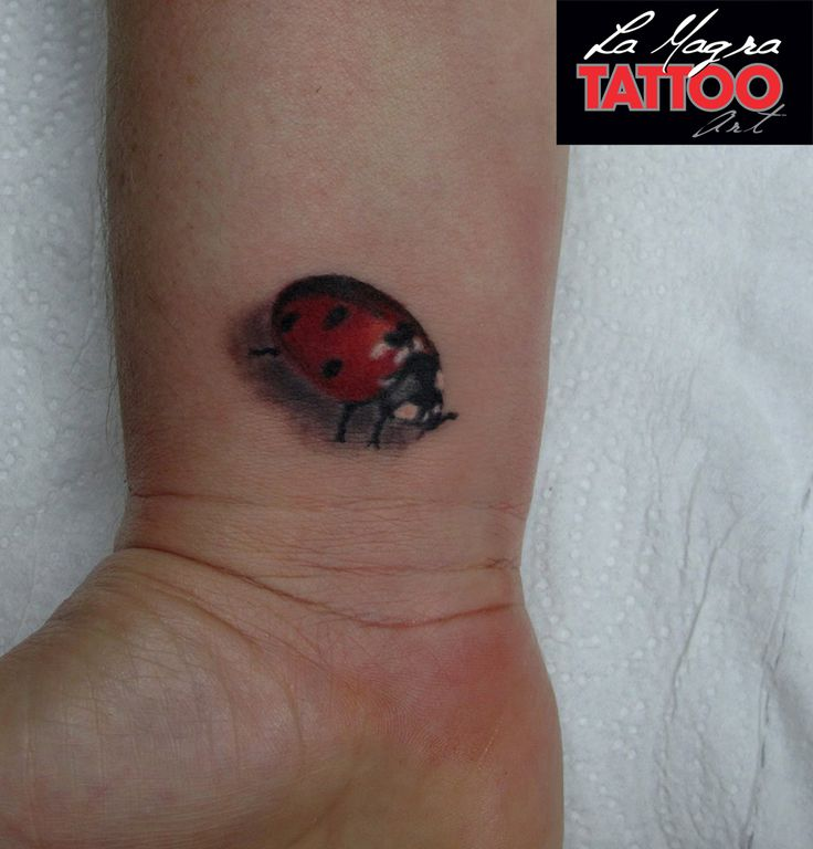 #tattoo #ladybug #wrist #tiny #small