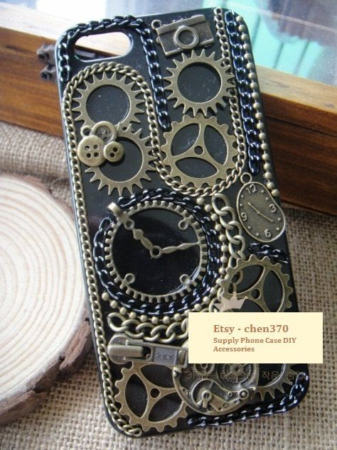 The Time Machine DIY Phone Case Deco Den Kit Free by ...