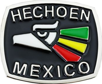 Hecho en Mexico Belt Buckle-Adult belt buckles